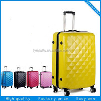 Mini trolley suitcase /abs+pc tour polo case D129.