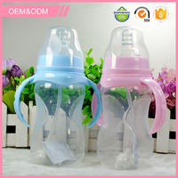 Factory direct best price free sample two color plastic baby bottle