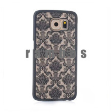 Palace Paper Cut Flower Pattern Floral Retro Mobile Phone Skin Case Cover Hard Shell for Samsung Galaxy S4 S5 S6 S6 Edge Alpha