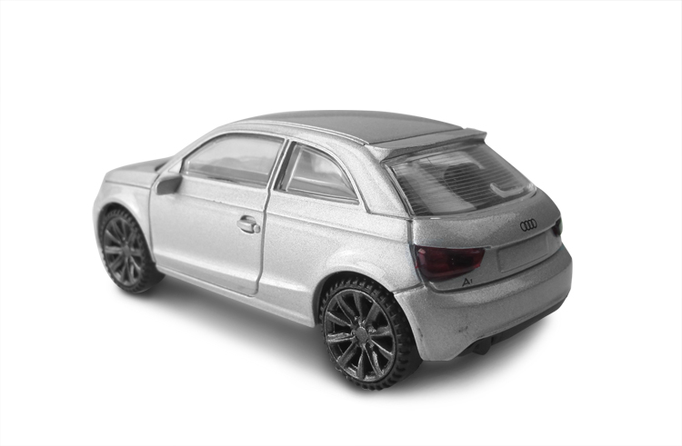 AUDI licensed Rastar diecast matt color high quality metal car model