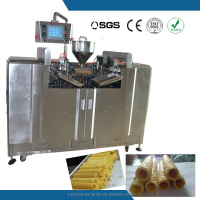 Mexico hot sale automatic wafer roll bakery machinery
