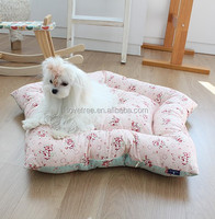 Cotton fabric Pet teepee tent mat pet cushion