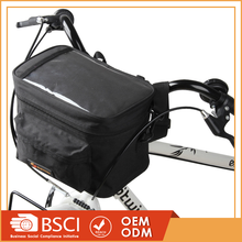 Hot selling electric bike battery bag, folding bicycle front handlebar bag
