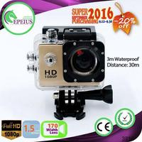 SUPER SEPT S4000 NTK 1080P ACTION CAMERA traveler waterproof sports camera 170 WIDE ANGLE ACTION CAMERA