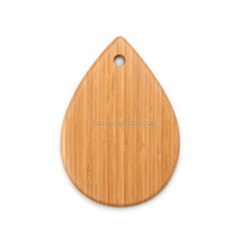 New products for 2015 kitchen untensils and applicances water drop shape bamboo cutting board