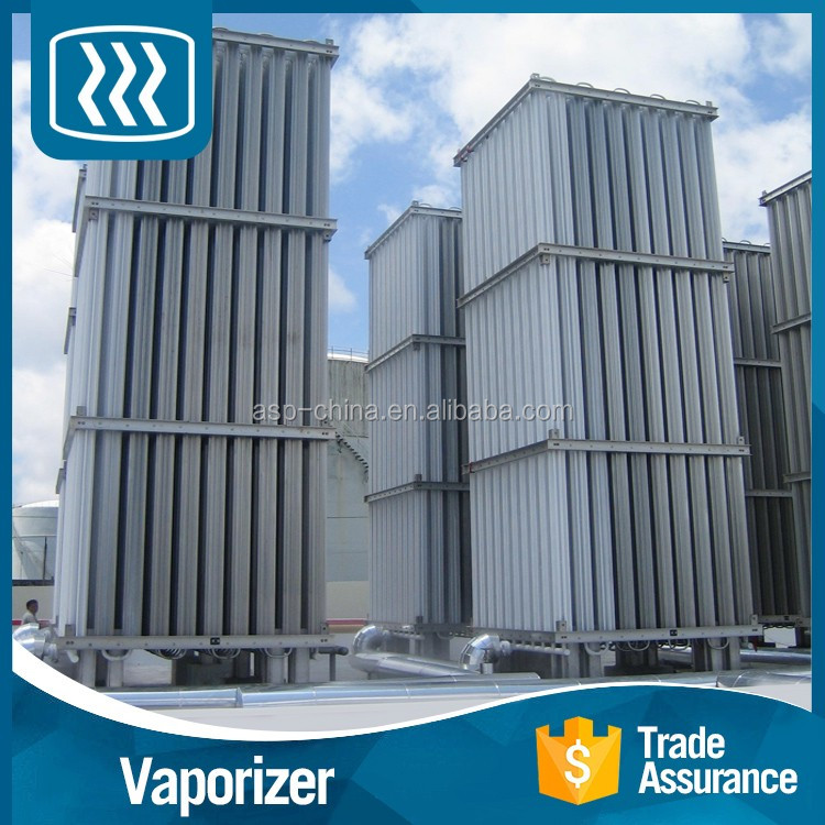 Good performance electric heating liquid steam industrial air heated vaporizer