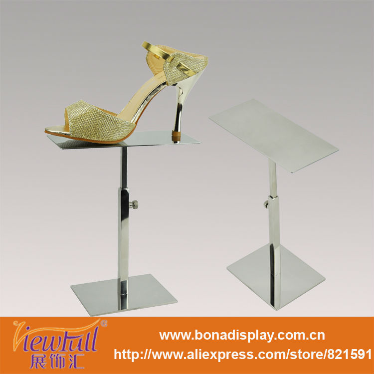 shoe shine stand shoe display stands design BN-9013PSS
