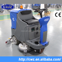 Driving type marble manual floor cleaning equipment