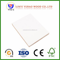 White Laminated Melamine Office Furniture High Glossy MDF Wood Board