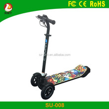 china electric skate electric custom LCD Display hoverboard with handle