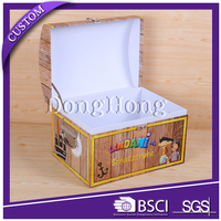 Popular design matte laminated paper stock jewellery gift box