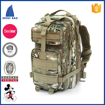 Waterproof high quality 60l military backpack