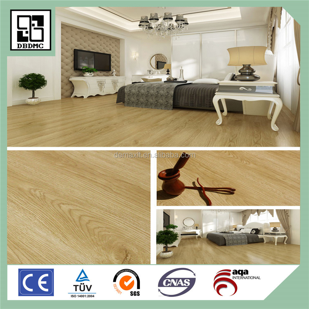 100% Virgin PVC Very Hot Click Wood Vinyl Flooring