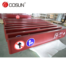 Cosun Stainless Steel Indoor Building Signage For High Speed Railway Station