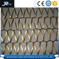 2016 China high quality stainless steel 304 plain weave wire mesh conveyor belt