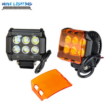 18w LED Light Bar Car Accessories CREE Chips Mini Light Bar 18W Led Work Light For Truck/Auto/Jeep/Atv