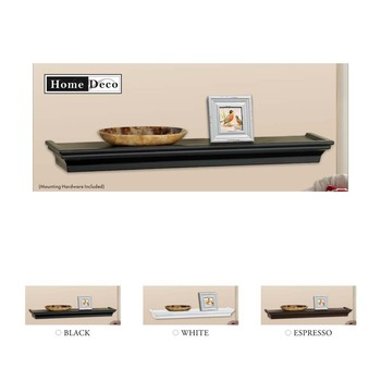 wholesale factory price home clear plastic floating wall shelf