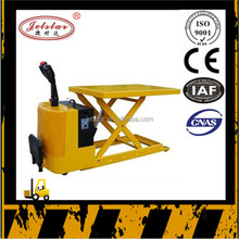 Full electric automatic lift hydraulic jack lift platform truck