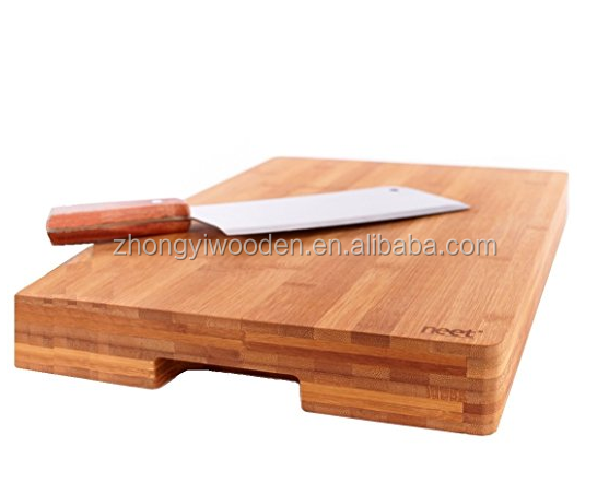 china factory BSCI&FSC kitchen wooden footed cutting chopping board for fruit vegetable meat cheese bread etc