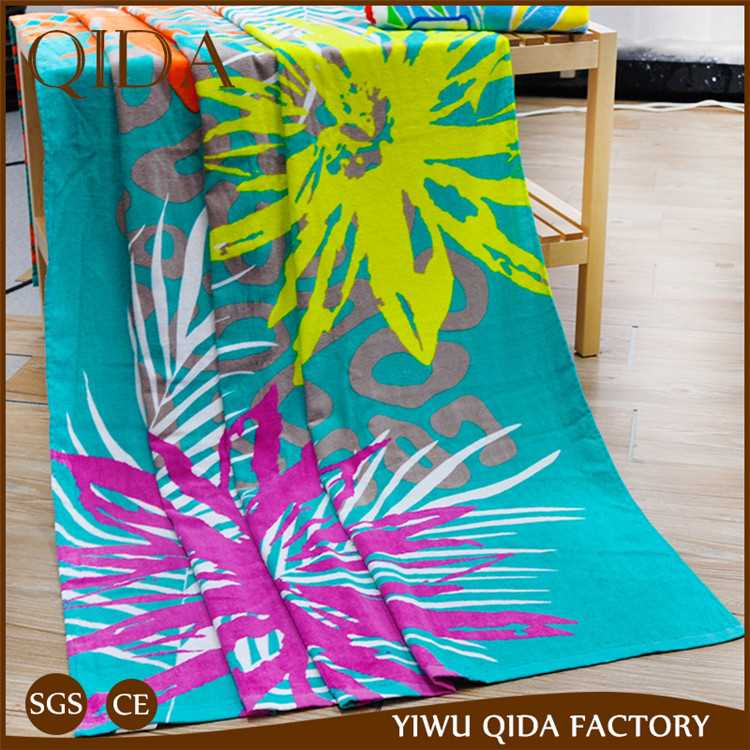 Qida China Supplier Beach Towel Essential Home Beach Towel