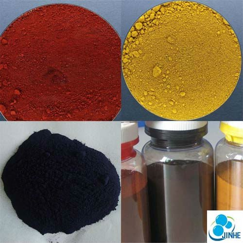 different colors iron oxide pigment/colorant/paint