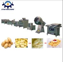 Small scale potato chips production line Potato chip machine used potato chips equipment