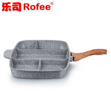 5 in 1 ceramic non stick master pan marble coating fry pan