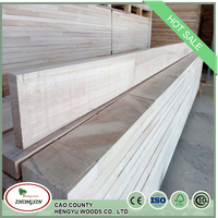 More Cheaper Finger Joint Board Paulownia Wood Price