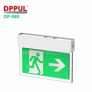 Fire Safety Double Sided Led Emergency Exit Light