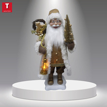 24 inches gold christmas decoration