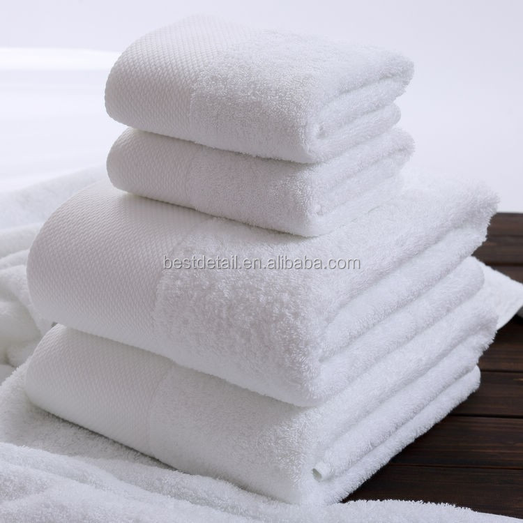 Low Cost Promotional Wholesale Cotton Hotel Hand Towels, Towels for Hotel