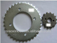 BIZ125 ,motorcycle sprocket for the Brazil