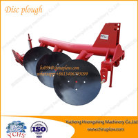Farm equipment banana round pipe 3 disc plough