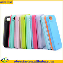 Mirror card function Mobile phone Case For iphone 4/4s