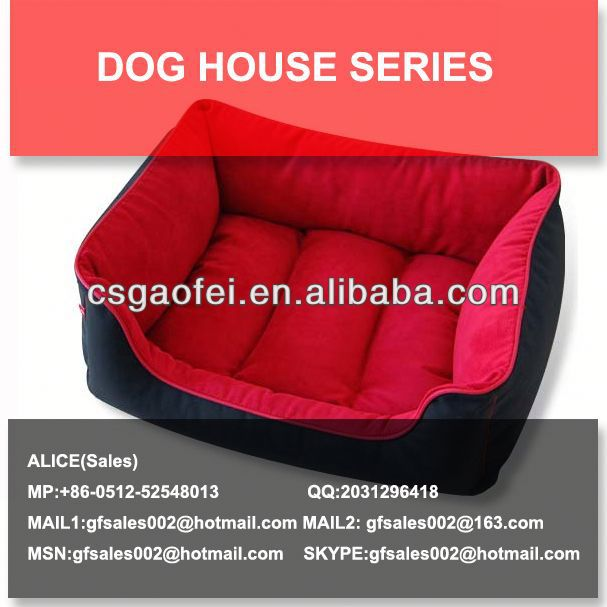 soft fabric dog house