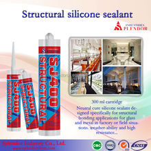 clear structural silicone sealant/ silicone pouring sealant/all purpose silicone sealant