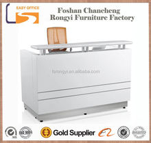 Hot selling white Lacquer finish wholesale front desk equipment