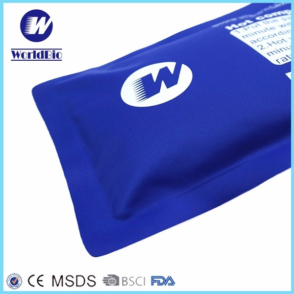 Hot Selling Reusable Hot Cold Gel Pad For Medical Use