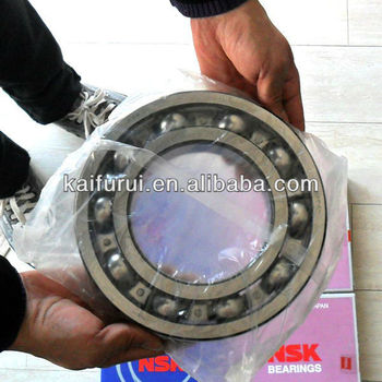 asian tube made in china deep groove ball bearing 6000 ZZ RS 2RS OPEN