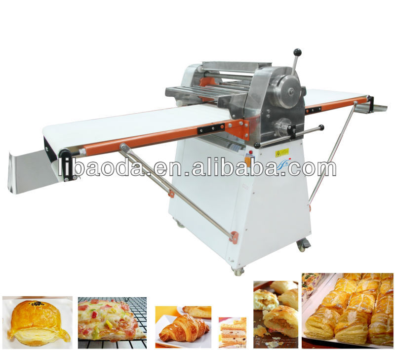 dough rolling machine for puff pastry