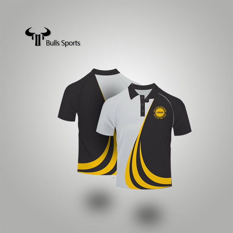 China gold manufacturer top sell arrow polo shirts custom