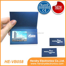 LCD Video Business Card with 2.4inch LCD screen