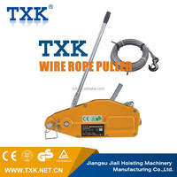 TXK lifting tools cable puller winch,ratchet cable puller,wire rope puller
