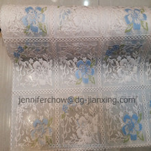 "Color printed 20"" PVC Table cloth for wedding"