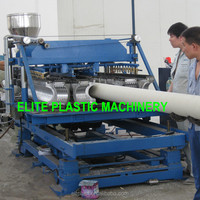 Patent Plastic PVC Single Wall Flexible Corrugated Pipe Making Machine