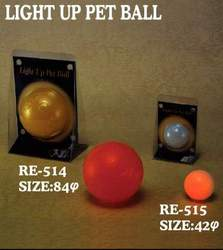 Light Up Pet Ball
