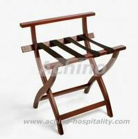 Commercial Heavy Duty Wooden Hotel Foldable Luggage Rack