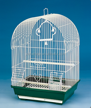 handmade fancy wire steel round bird breeding cages with hook 3100A