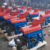 Electric motor powered automatic corn sheller