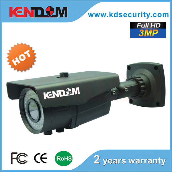 3 Megapixel IP Camera 40M IR Waterproof WDR Outdoor 3MP IP POE Camera in security system with P2P, ONVIF